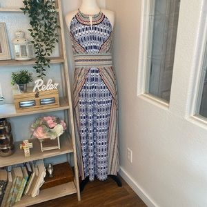 🆕London Times multi color maxi dress